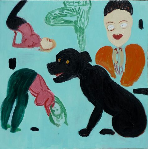 Beanie & Phoebe – painting by Georgia Hayes