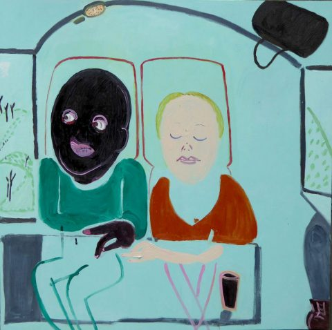 Travelling Together – painting by Georgia Hayes