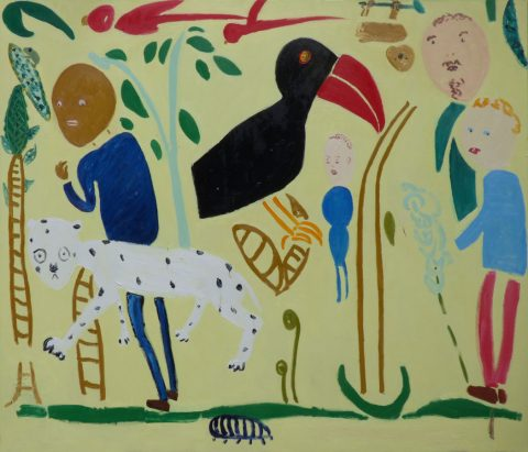 Visiting the Rain Forest – painting by Georgia Hayes